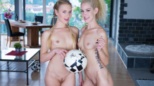 Alecia Fox & Monique Woods Are Soccer Fans