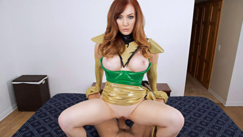 Dani Jensen is Jean Grey aka Phoenix from X-Men