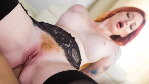 Anal Sex with Gorgeous Redhead Zara Du Rose