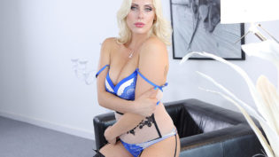 Brittany Bardot Break Time At Office