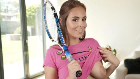 This Tennis Match Is One To Remember With Antonia Sainz