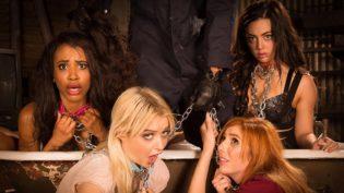 The Halloween Blowjob Massacre ft. Lauren Phillips, Chloe Cherry, Whitney Wright and Demi Sutra