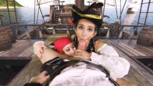 Darcia Lee & Foxy Sanie loves Captain Cock