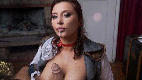 A VR Porn Parody with Anna Polina